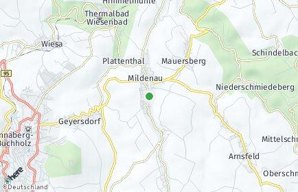 Stadtplan Mildenau