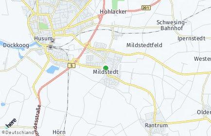 Stadtplan Mildstedt