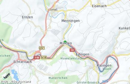 Stadtplan Minden (Sauer)
