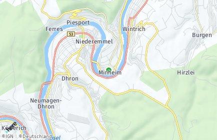 Stadtplan Minheim