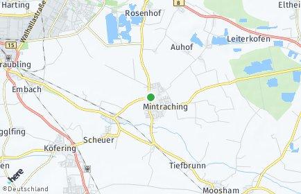 Stadtplan Mintraching