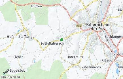 Stadtplan Mittelbiberach
