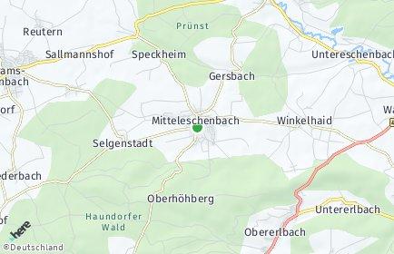Stadtplan Mitteleschenbach