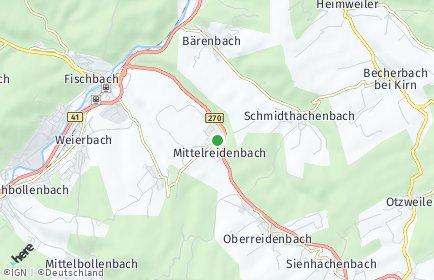 Stadtplan Mittelreidenbach