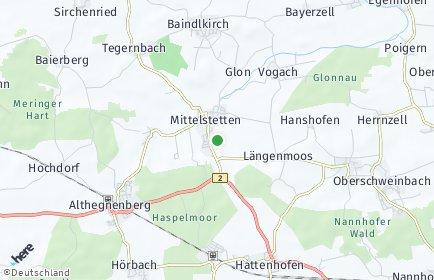 Stadtplan Mittelstetten