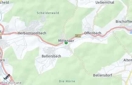 Stadtplan Mittenaar