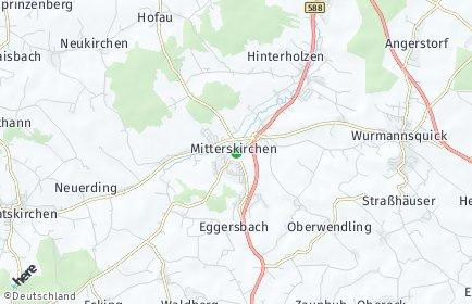 Stadtplan Mitterskirchen