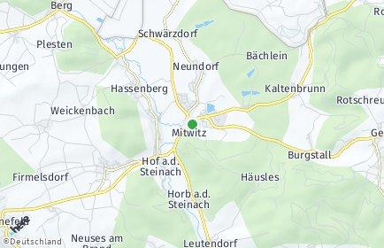 Stadtplan Mitwitz