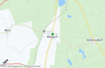 Stadtplan Mixdorf