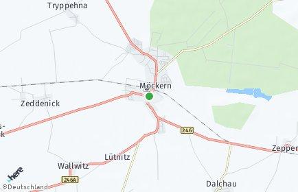 Stadtplan Möckern OT Rietzel