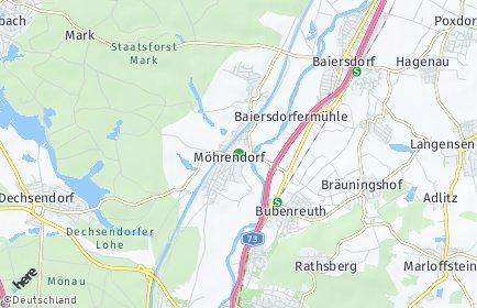 Stadtplan Möhrendorf