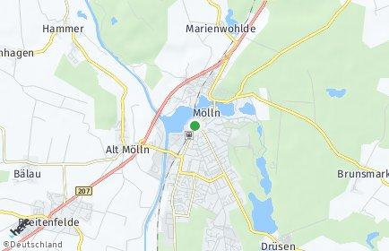 Stadtplan Mölln
