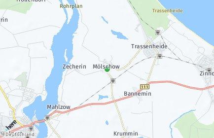 Stadtplan Mölschow
