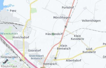 Stadtplan Mönchhagen