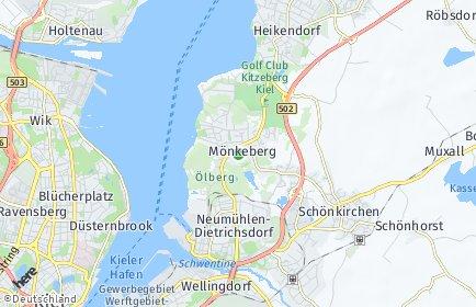 Stadtplan Mönkeberg