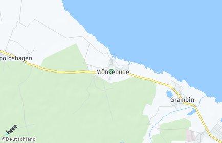 Stadtplan Mönkebude