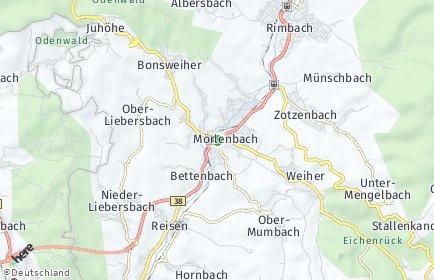 Stadtplan Mörlenbach