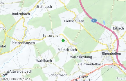 Stadtplan Mörschbach