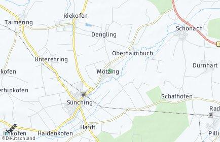 Stadtplan Mötzing