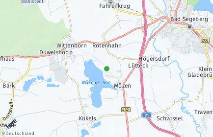 Stadtplan Mözen