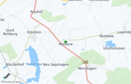 Stadtplan Moltzow