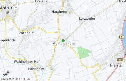 Stadtplan Mommenheim