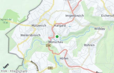 Stadtplan Monschau