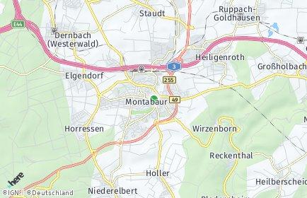 Stadtplan Montabaur