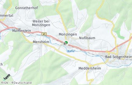 Stadtplan Monzingen