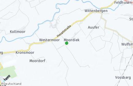 Stadtplan Moordiek