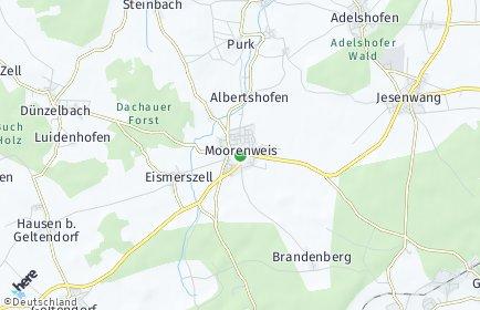 Stadtplan Moorenweis