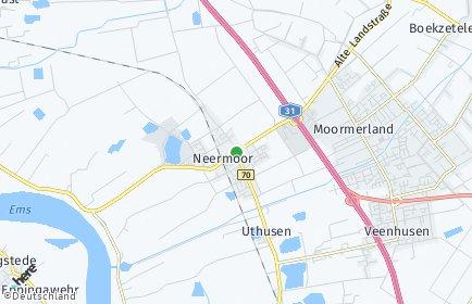 Stadtplan Moormerland
