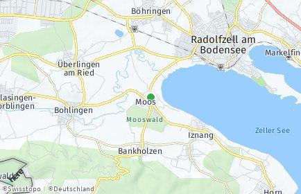 Stadtplan Moos (Bodensee)