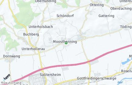 Stadtplan Moosthenning