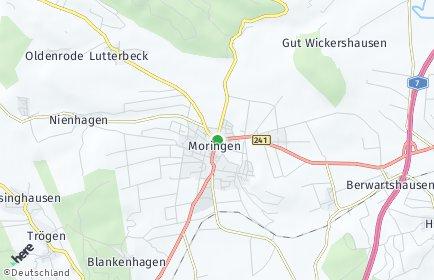 Stadtplan Moringen