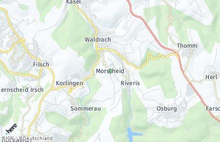 Stadtplan Morscheid