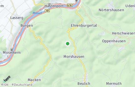 Stadtplan Morshausen