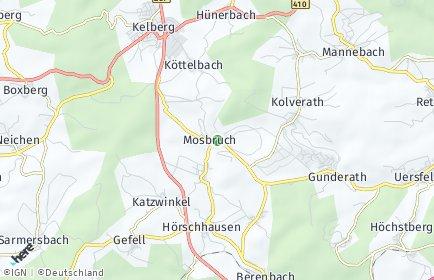 Stadtplan Mosbruch