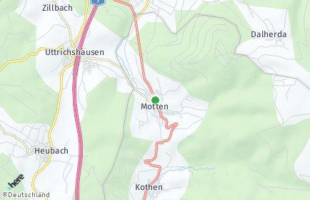 Stadtplan Motten