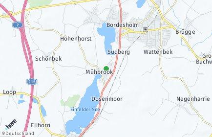 Stadtplan Mühbrook