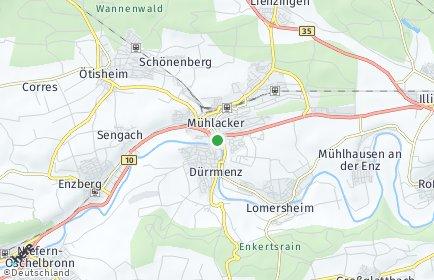 Stadtplan Mühlacker