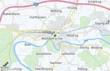 Stadtplan Mühldorf am Inn