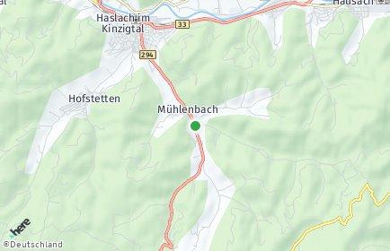 Stadtplan Mühlenbach