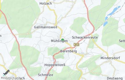 Stadtplan Mühlingen