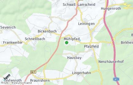 Stadtplan Mühlpfad