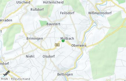 Stadtplan Mülbach