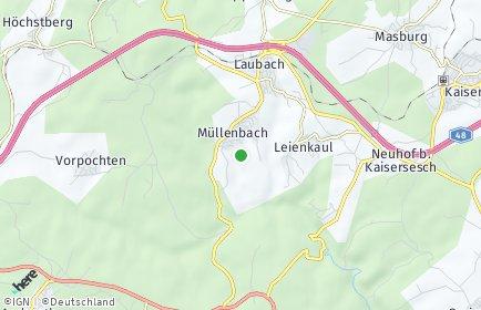 Stadtplan Müllenbach bei Mayen