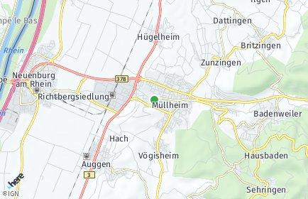 Stadtplan Müllheim (Baden)