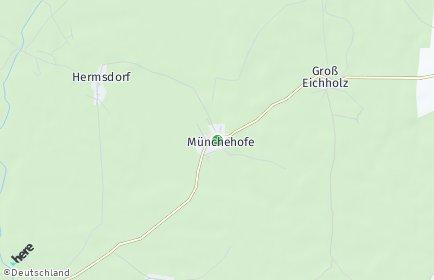 Stadtplan Münchehofe
