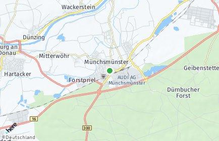Stadtplan Münchsmünster
